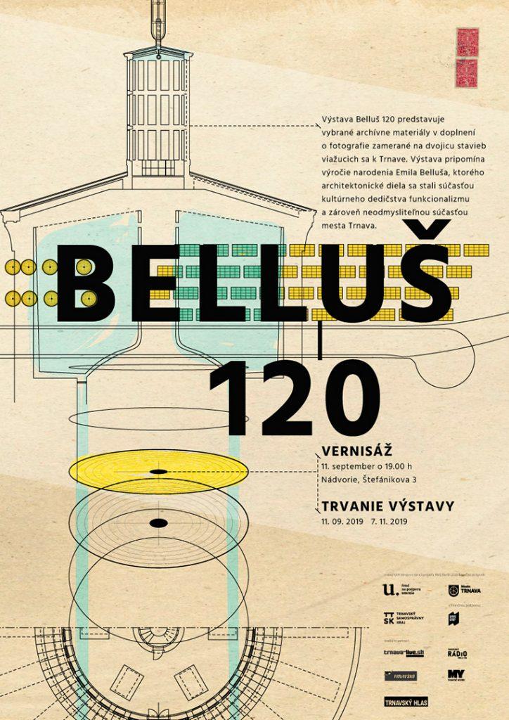 Belluš 120: plagát