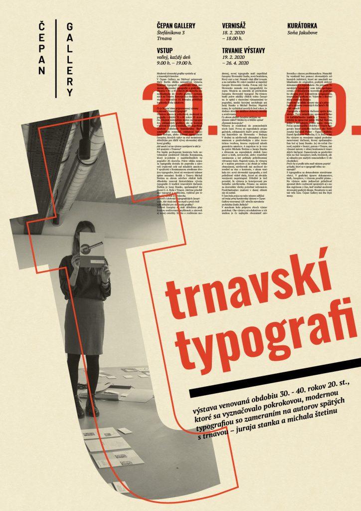 Trnavskí typografi: plagát